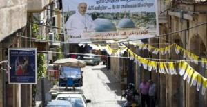 Il Papa in Terra Santa come San Francesco con il Sultano