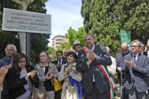 Giornalisti: a Trieste giardino in memoria vittime Mostar. Cerimonia con Siddi e Rossi (Fnsi) per Luchetta, Ota, D'Angelo, Hrovatin