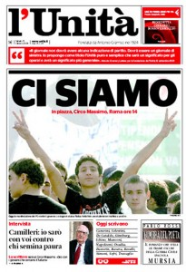 """l'Unità di nuovo in sciopero, la Fnsi: """"L'editore ha superato ogni limite"""""""