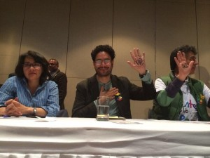 """""""Raccontare e sostenere il processo di Pace"""". L'appello della società civile colombiana"""
