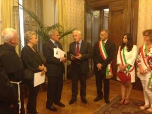 """L'Italia deve riconoscere il Diritto alla Pace. Grasso: """"utopia concreta"""""""
