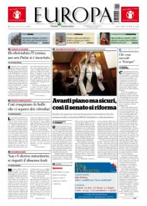 """""""Europa"""", l'assemblea dei giornalisti denuncia la messa in cassa integrazione dei lavoratori"""