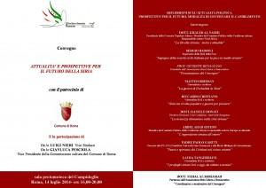 """""""Attualità e prospettive per il futuro della Siria"""", lunedì 14 luglio, Roma"""