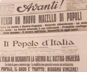 Il 28 luglio di 100 anni fa scoppiava in Europa la prima guerra mondiale. Oggi è un giorno di lutto