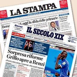 """Matrimonio """"La Stampa"""" – """"Il Secolo XIX. I giochi siano chiari. La Liguria si """"gioca"""" tre giornali"""