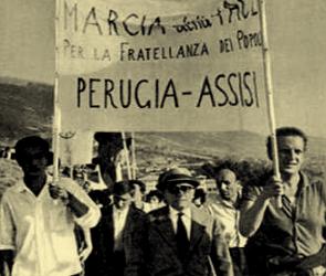 Marcia della pace Perugia-Assisi, quel 24 settembre 1961