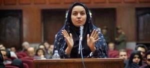 Iran, sospesa l'esecuzione di Reyhaneh