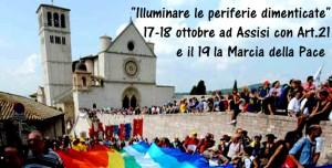 """""""Illuminare le periferie del mondo"""".Oggi Articolo21 ne discute ad Assisi"""