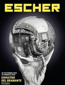 I mondi immaginifici di Escher al Chiostro del Bramante