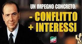 Ricordate il conflitto d'interessi? (I Tg di mercoledì 26 novembre)