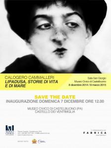 Calogero Cammalleri, Lipadusa, storie di vita e di mare