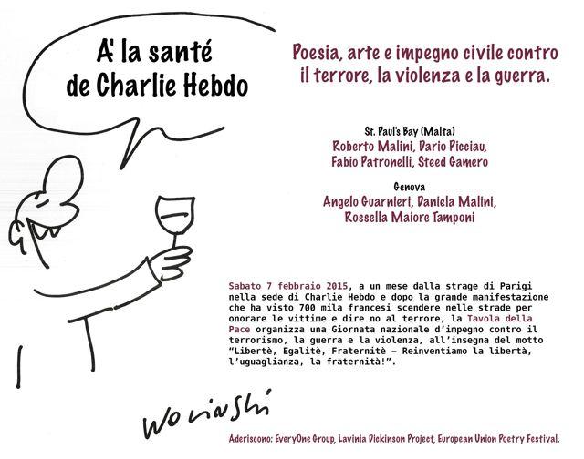 7 Febbraio Poesia E Arte Nella Giornata Contro Il Terrorismo