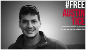 #FreeAustinTice, la campagna lanciata da Reporters Sans Frontières