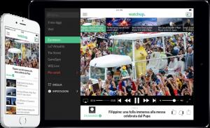 Il tiggì personalizzato, anche in Italia arriva Watchup