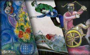 """L'universo capovolto di Marc Chagall non lo ha costretto """"a voltare le spalle al cielo e alle stelle"""""""