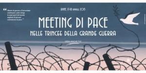 """""""Meeting di pacenelle trincee della Grande Guerra"""". Roma, 14 aprile la presentazione"""
