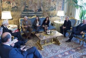"""Legalità: Mattarella, """"educare i giovani a cultura antimafiosa"""""""