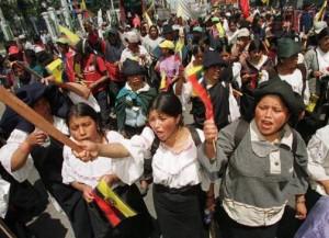 Socialismo in Ecuador, la verifica del I Maggio