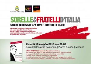 """""""Sulle ginocchia"""", il nuovo libro di Franco La Torre (Melampo Editore), Modena 15 maggio"""