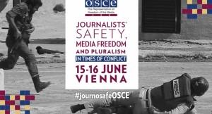Conferenza sulla sicurezza dei giornalisti, libertà dei media e pluralismo in tempi di conflitto
