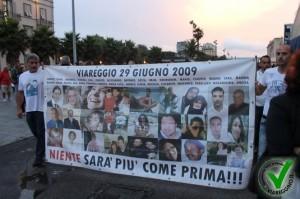 Viareggio, 6 anni fa il disastro ferroviario