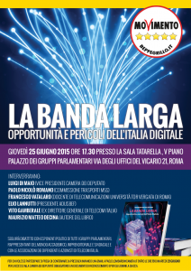 """""""La banda larga. Opportunità e pericoli dell'Italia digitale"""" di Maurizio Matteo Decina. Il 25 giugno la presentazione a Roma"""