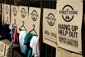 The Street Store. Come scegliersi un vestito senza soldi né dimora