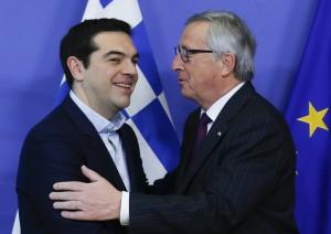 Juncker, Tsipras e la retorica sulla crisi greca