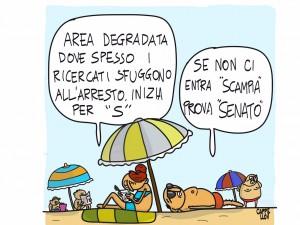 Enigmistica sotto l'ombrellone