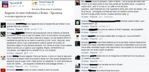 Lo stupro di Roma, facebook e la raccapricciante mancata responsabilità della collettività