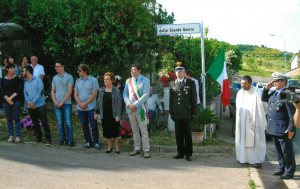 """A Viceno intitolata una via alla """"Grande Guerra"""""""
