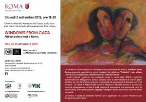 A Roma una finestra da Gaza per parlare di Pace, Libertà, Giustizia