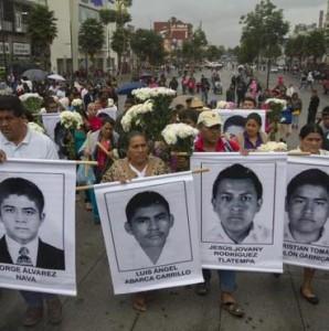 Ayotzinapa, il Messico non dimentica