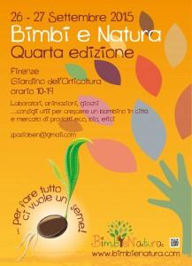 Bimbi e Natura 26/27 Settembre a Firenze insieme a Oxfam Italia per parlare ai piccini e ai grandi dell'importanza della solidarietà