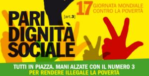 """""""No miseria ladra. Pari dignità sociale"""".Oggi sulle piazza d'Italia con Libera"""