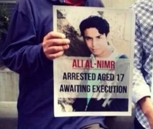 """""""Salviamo la vita di Alì Mohammd Al-Nimr"""". Petizione su Change.org"""