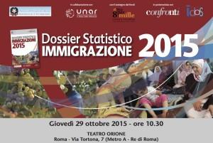 Idos e Confronti. Dossier Statistico Immigrazione 2015