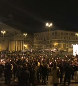 "Attentati Parigi: Sabrina Alfonsi: ""un'ora di lotta alla paura"""