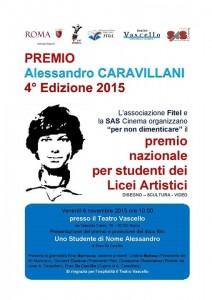 IV Edizione Premio Alessandro Caravillani. Roma, 6 novembre