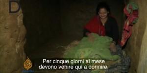 """""""Nepal, basta donne segregate durante le mestruazioni"""". Petizione su Change.org"""