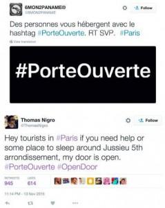 #PorteOuverte, lampi di intatta speranza