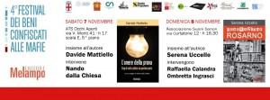A Milano la IV edizione del Festival dei Beni confiscati alle mafie. Gli appuntamenti di Melampo editore