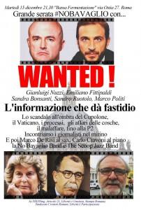 """""""L'informazione che dà fastidio"""", 15 dicembre dalle 21.30 con Ruotolo, Nuzzi, Fittipaldi…"""
