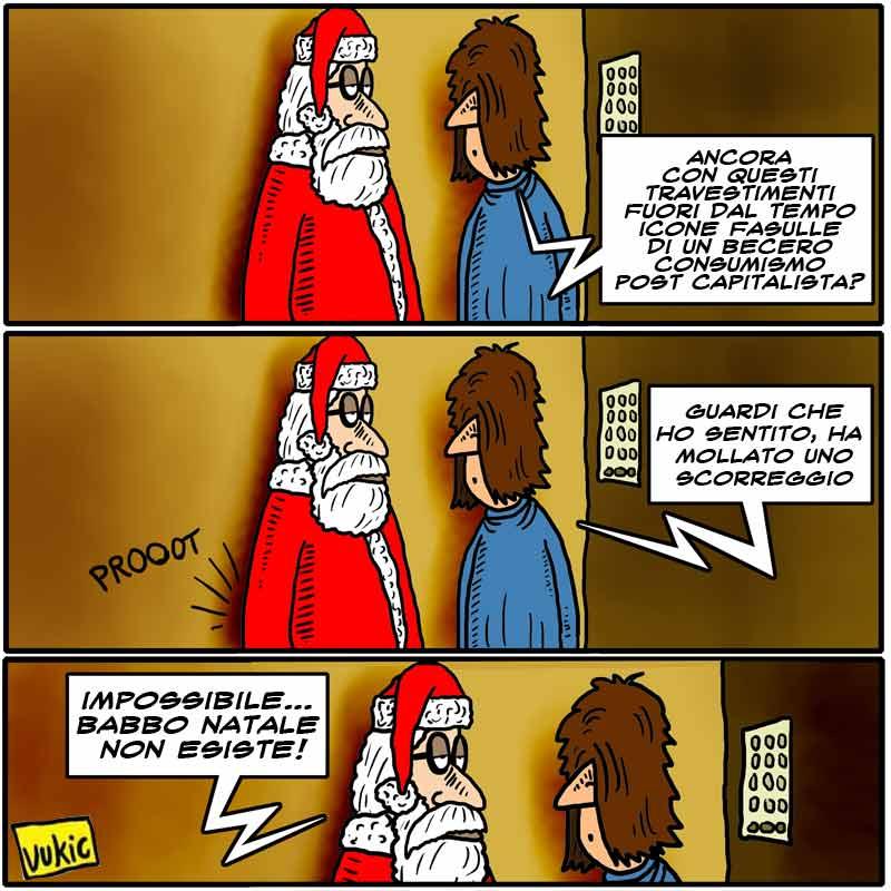 Esiste Babbo Natale Si O No.Babbo Natale Non Esiste Articolo21