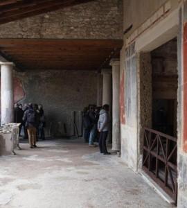 Pompei, tornano alla luce sei antiche dimore restaurare