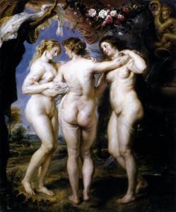 La bellezza di Rubens e quella della tv