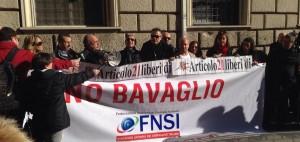 #nobavaglioturco. Il presidio dei giornalisti all'Ambasciata per la libertà di espressione