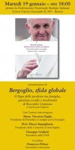 Il 19 gennaio la presentazione del libro di Riccardo Cristiano su Papa Bergoglio