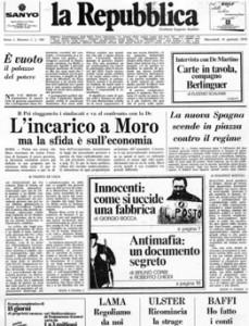 Repubblica: quarant'anni e una scommessa sul futuro