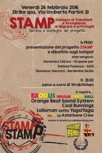 """Nasce S.T.A.M.P, un progetto di solidarietà e mutualismo, di """"Sostegno ai Transitanti e Accoglienza a Migranti e Profughi"""""""